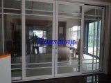 120series Heavy Sliding Doors Office Partition Doors Aluminum Sliding Doors con Costruire-in Blinds