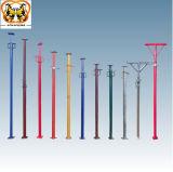 Justierbare teleskopische Verschalung-Aufbau-Baugerüst-Pfosten-Stützbalken-Stahl-Hochleistungsstütze