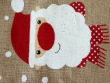 Kundenspezifischer Hanfdrawstring-Beutel-Weihnachtsgeschenkdrawstring-Beutel