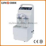 Máquina médica de la succión del hospital plástico móvil
