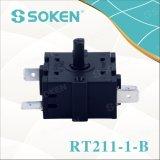 Interruptor rotatorio de la posición de Soken 2