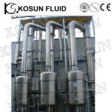 Evaporador de película de queda do concentrado do suco do efeito do aço inoxidável multi