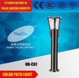 indicatori luminosi solari della batteria di litio di 3.7V 5ah 3W LED per la via