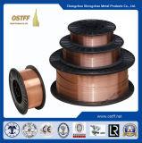 0.035インチD270/D200/D100mmのプラスチックスプールのミグ溶接ワイヤー(aws Er70s-6/sg2)