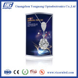 Rand-beleuchtete gebogene helle LED Kasten-SIND