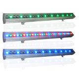 DMX Selbst72w im Freien wasserdichte LED Wand-Unterlegscheibe-lineares Licht