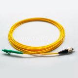Cordon de connexion recto uni-mode de fibre optique de LC/APC-FC/PC