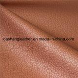 Кожа PVC синтетическая в поставщике мебели софы Китая