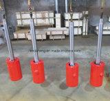 Cilindro hidráulico de China para a máquina de soldadura da extremidade instantânea