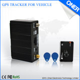Vehículo de la flota GPS Tracker con control RFID
