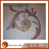 Wall Ileのための自然なBeige Stone Mosaic Tile