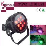 9PCS de Disco Stage Outdoor LED PAR Light van LED (hl-025)