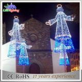 الصين مموّن [لد] عيد ميلاد المسيح شارع زخرفة [بول] يعلى ضوء