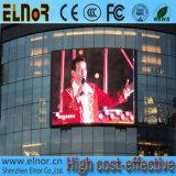 Definição elevada que anuncia o indicador de diodo emissor de luz ao ar livre video de P6 SMD