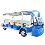 Omnibus de visita turístico de excursión eléctrico 11seat del vehículo utilitario del panel solar
