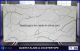 White Calacatta Quartz Stone Slab para bancada de cozinha / Home Stones / Material de decoração / Material de construção por atacado