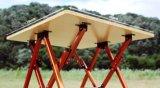 Exllentデザインデラックスな折るキャンプの食器棚ファブリックキッチン・テーブル
