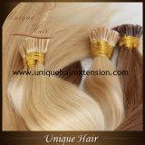 Estensioni russe dei capelli di fusione di Remy dissipate doppio