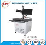 Usar extensamente a máquina da marcação do laser da fibra no PVC do CPE de /ABS dos metais