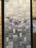 Gris no impermeable de la sala de estar Azulejos de pared de cerámica con paleta (12'x24 ')