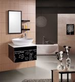 PVC浴室の家具の虚栄心の浴室用キャビネット(W-192)