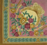 花敷物またはカーペット(A-047)のウールHandtuft
