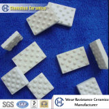 La alta resistencia de desgaste levantó el azulejo de mosaico de cerámica vulcanizado en el revestimiento de la polea