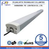 駐車場のための涼しい白6000-6500k 1200mm 4FT 40W LED Triproofライト