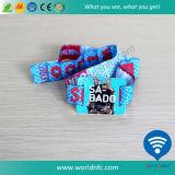 Faixa Acessível Ntag213 Pulseira Tecida RFID NFC Fabric Wristband