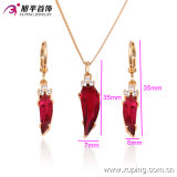 중국 Wholesale Xuping New Hot Sale 18k Gold Plated Luxury Jewelry Set