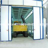 Cabine de pintura anti-pulverização não padronizada para caminhões pesados