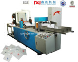 Máquina automática cheia da fatura de papel de máquina do guardanapo do distribuidor da dobra