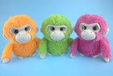 Jouets mous de singe de peluche de peluches dans la couleur trois