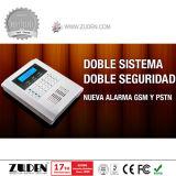 SMS GSM PSTN Alarme de roubo com marcação automática com display LCD