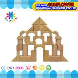 La mesa de madera de los niños juega el rompecabezas de madera de desarrollo de los bloques huecos de los juguetes (XYH-JMM10010)