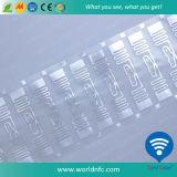 ISO18000-6c 860-960 MHZ UHF- RFID trocknen Einlegearbeit für Schmucksache-Kennsatz