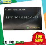 IDENTIFICATION RF par la carte de crédit bloquée de dresseur d'invention neuve bloquant le protecteur de carte