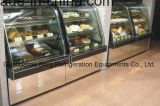 Assoalho Standing Bakery Cake Display Fridge com Ce