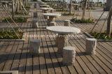 Heißer Verkaufs-preiswerte Garten-Stein-Stühle und Tisch