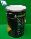 Glue/Latex Paint Usage를 위한 25L Empty Metal Cans 또는 Bucket
