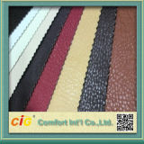 PVC artificiel Leather de Leather Synthetic Leather pour Upholstery Sofa Chairs (Lychee)
