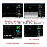 12,1 polegadas Monitor de paciente de seis parâmetros com nova interface (Un-8000s)