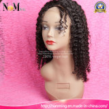 Beautiful Afro Kinky Curly Natural Hairline Glueless peruca de renda completa