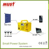 Kit de système d'alimentation solaire portable 30W pour éclairage domestique