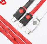 (편평한) 패킹을%s 가진 3meters USB 데이터 케이블