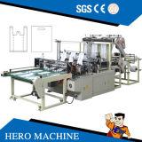 영웅 상표 컴퓨터 통제 고속 겹켜 조끼 회전 부대 만드는 기계 (DZB500-800)