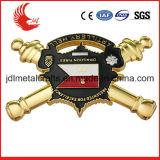 I militari di fusione sotto pressione progettano il disegno libero di offerta del distintivo di Pin dello sceriffo di alta qualità