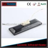 Eléctrica placa de cerámica Calentador infrarrojo con termopar