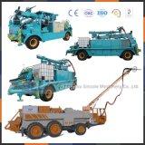 China-Fabrik-Zubehörgunite-materieller Falten-Teleskopischer Arm