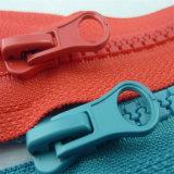 Do metal invisível da resina do laço dos Zippers Zipper de nylon para o acessório do vestuário
